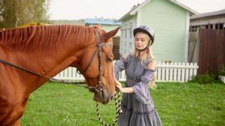 ヒルナンデス 乗馬体験