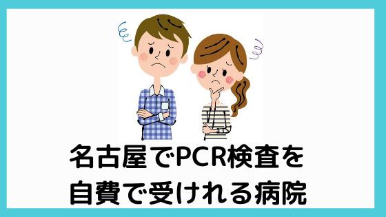 名古屋 pcr検査 自費